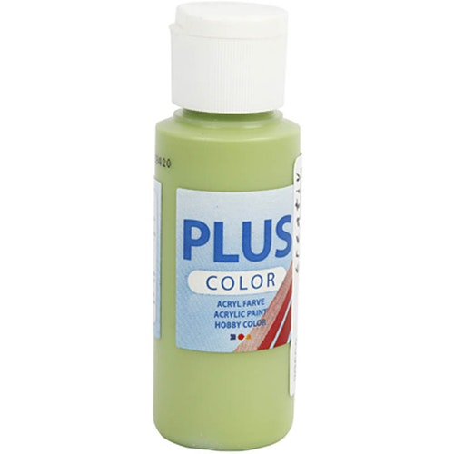 Plus Color hobbyfärg, leaf green, 60ml