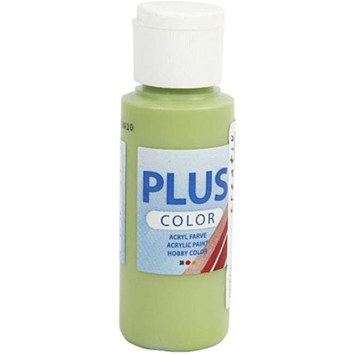 Plus Color hobbyfärg, leaf green, 60ml