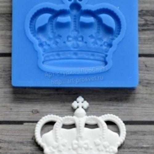 Silikonform, krona 2