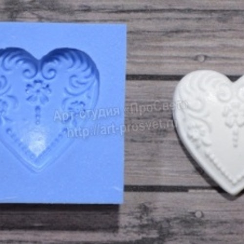 ProSvet Silikonform, romantic heart