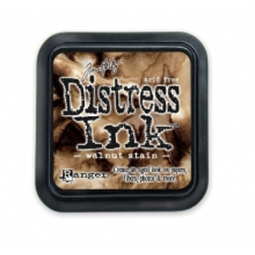Distress ink pad, Walnut stain