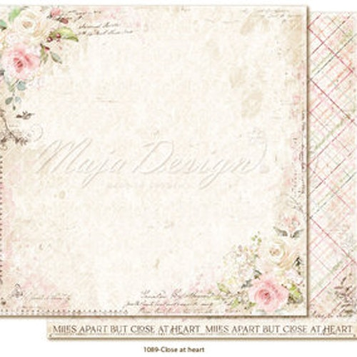 "Maja Design12""x12"" Miles Apart - Close at heart"