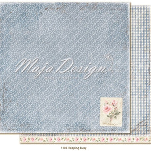 "Maja Design12""x12"" Miles Apart - Keeping busy"