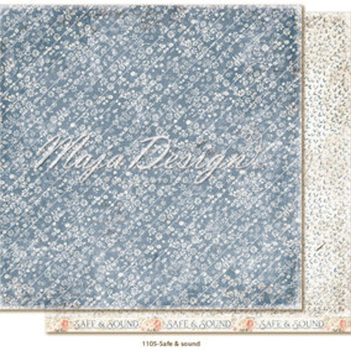 "Maja Design 12""x12"" Miles Apart - Safe & Sound"