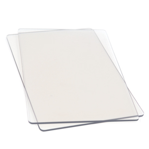 655093 Sizzix Cutting Pads1 Pair - Standard clear