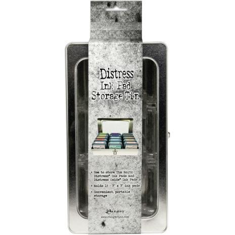 Tim Holtz Distress Ink & oxide Pad Storage Tin