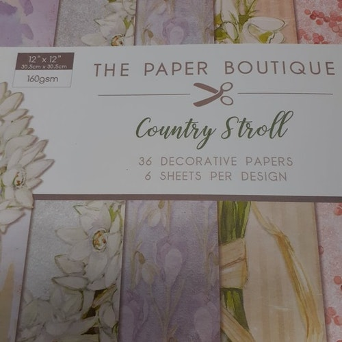 Paper Boutique 12x12 Country Stroll