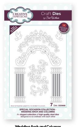 Creative Expressions Die, CED9408, wedding arch