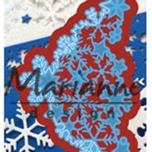 Marianne Design Die - LR0497 snowflake corner