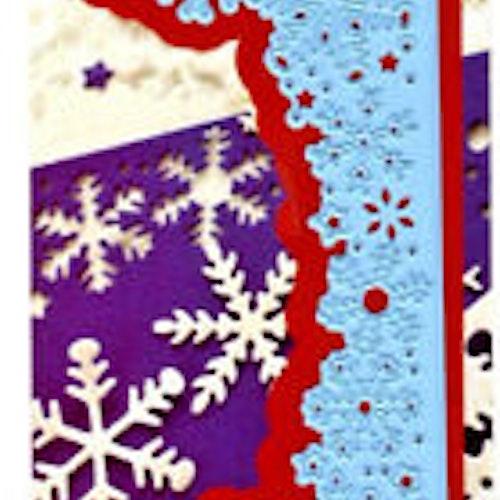 Marianne Design Die - LR0498 snowflake border