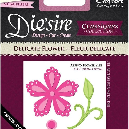 Crafters companion die - Fleur Delicate