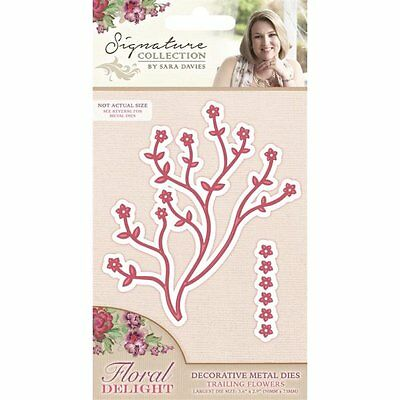 Crafters companion die - Trailing flowers