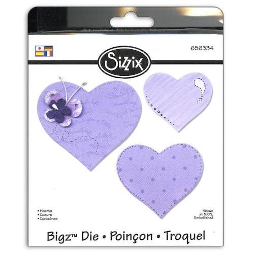 656334 Sizzix bigz dies - Hearts