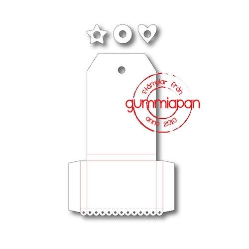 Gummiapan Dies, tag kit D180219