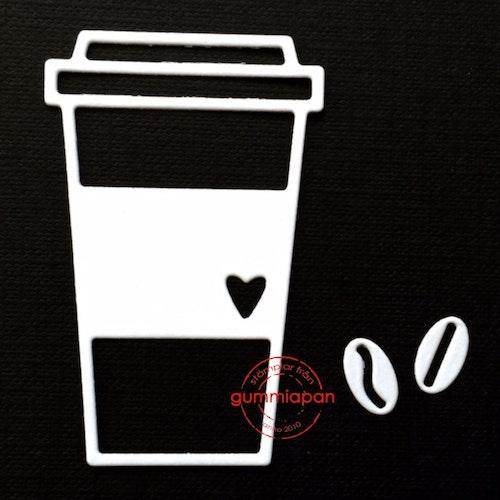 Gummiapan Dies, kaffemugg D160425