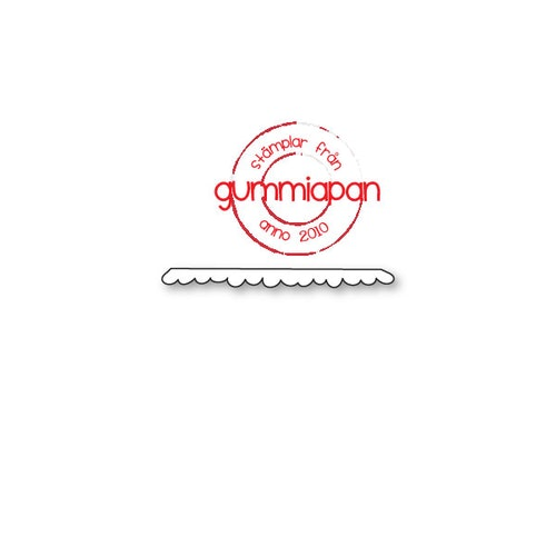 Gummiapan Dies, bård 8 D180952