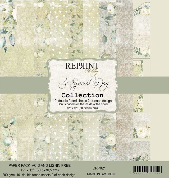 Reprint 12x12 - A Special Day collection pack