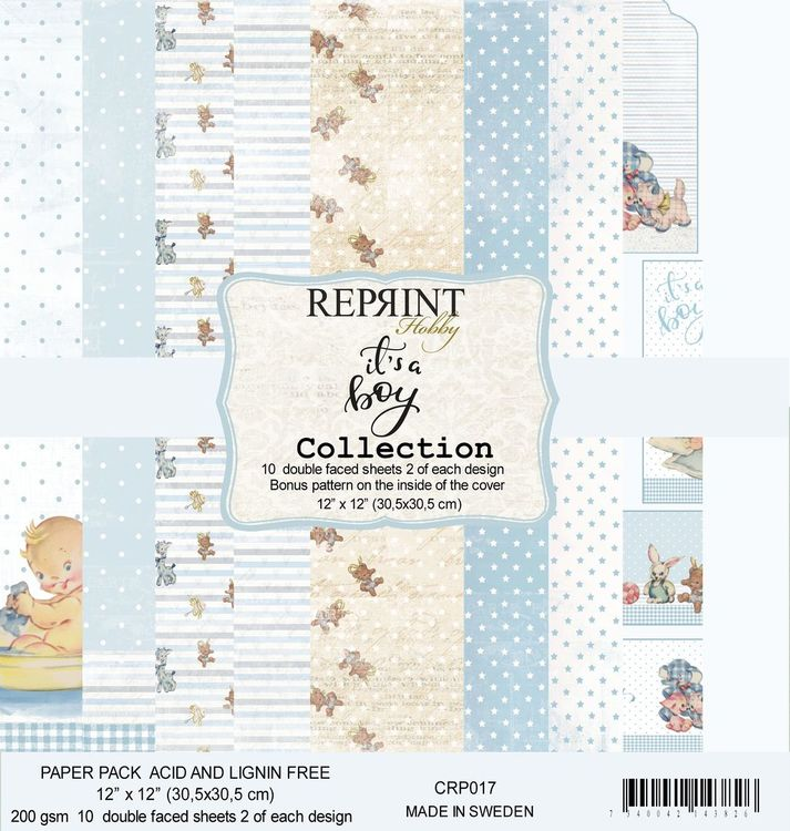 Reprint 12x12 - Springtime collection pack