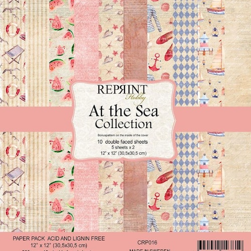 Reprint 12x12 - At the Sea collection pack