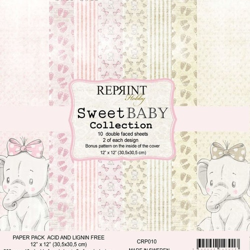 Reprint 12x12 - Sweet Baby Pink Collection Pack