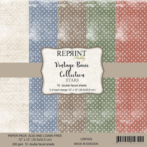 Reprint 12x12 - Basic Collection Pack Stars