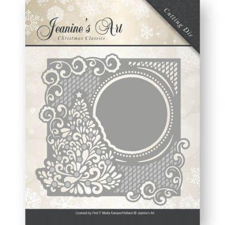 Jeanines Art Dies - Christmas tree Frame JAD10005