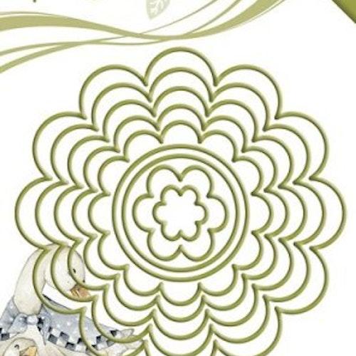 Precious Marieke Die -  flower nesting PM10057