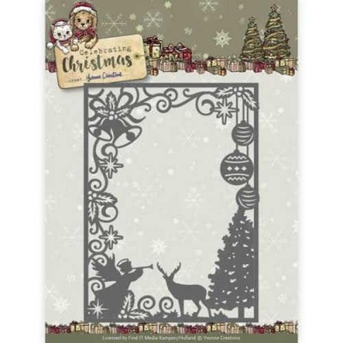 Yvonne Creation Die - scene rect Frame YCD10114