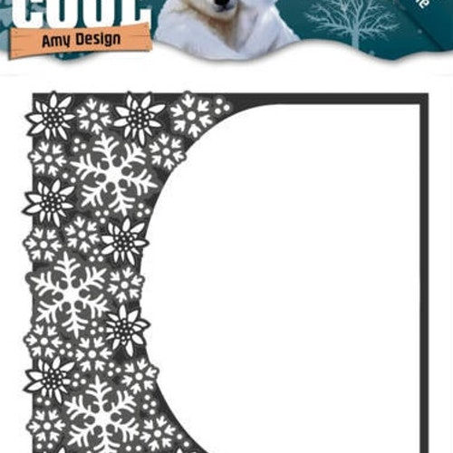 Amy Design Die - cool rounded frame ADD10159