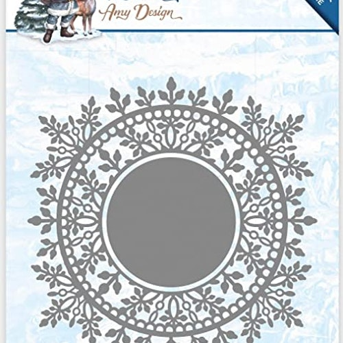 Amy Design Die - ice chrystal circle ADD10110