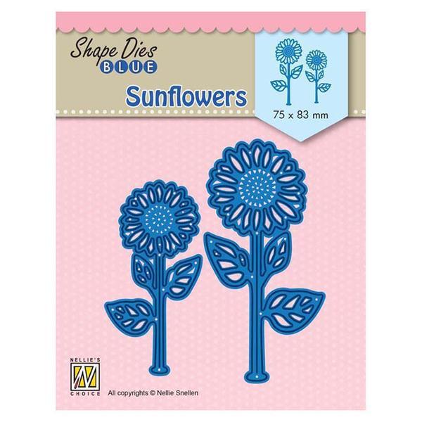 Nellie Snellen Die Blue - Sunflowers