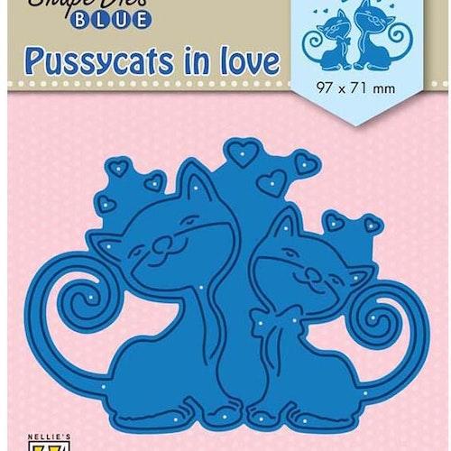 Nellie Snellen Die Blue - Pussycats in love
