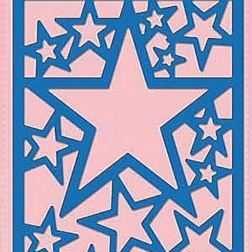 Nellie Snellen Die Blue - Star frame