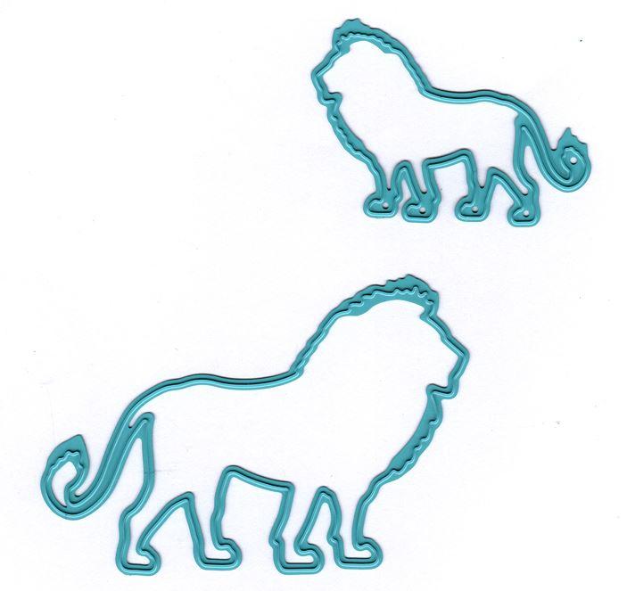 Nellie Snellen Die Vintasia -  African lion