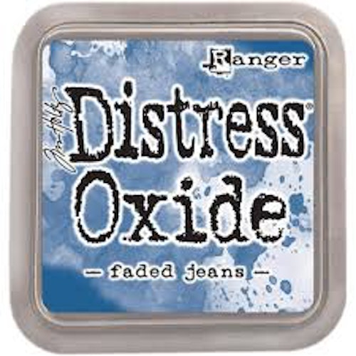 Distress oxide dyna, Faded jeans