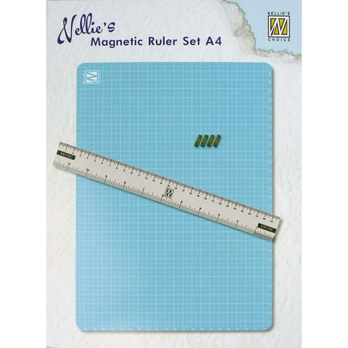 Nellie snellen Magnetic ruler set A4
