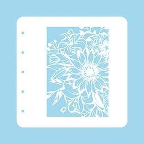 """Nellie snellen Stencil A6 for Magnetic colour set """"flower-1"""""""