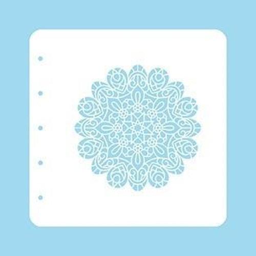 """Nellie snellen Stencil A6 for Magnetic colour set """"Mandala"""""""