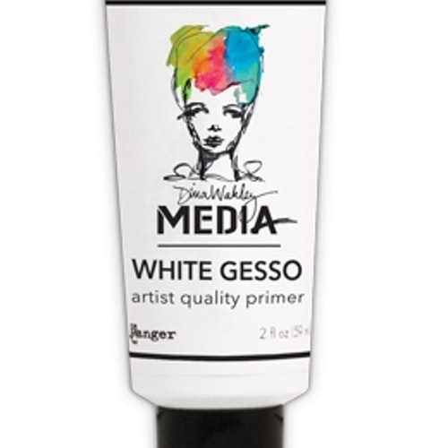 Dina Wakley Media white gesso 59ml