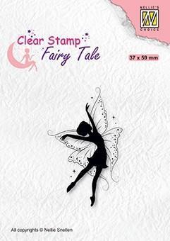 Nellie snellen Clear stamp - elf dancing