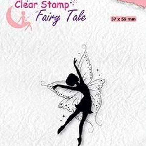 Nellie snellen Clear stamp - elf dancing