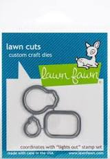 Lawn Fawn stamp + Die - Lights out
