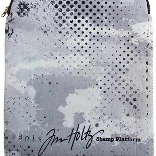 Stamp platform protective sleeve