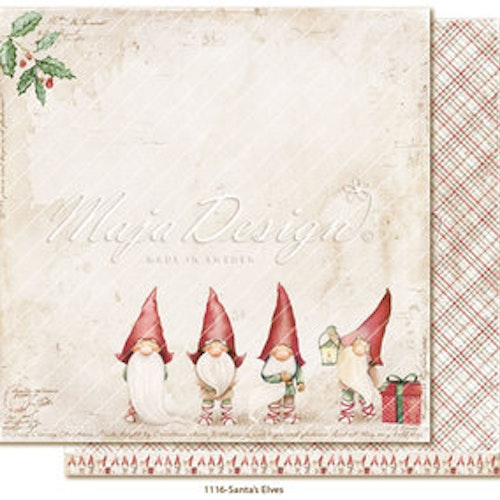 "Maja Design Ark 12x12"" - Traditional Christmas - Santa´s Elves"