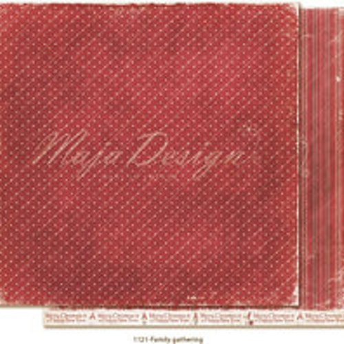 "Maja Design Ark 12x12"" - Traditional Christmas - Family gathering"