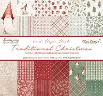 "Maja Design 6""x6"" - Traditional Christmas - Paper Pack"