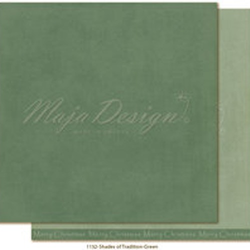 "Maja Design Ark 12x12"" - Monochromes - Shades of Tradition - Green"