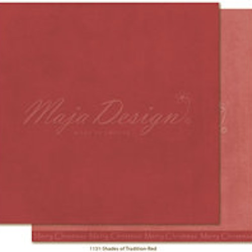 "Maja Design Ark 12x12"" - Monochromes - Shades of Tradition - Red"