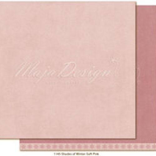 "Maja Design Ark 12x12"" - Monochromes - Shades of Winter - Soft pink"