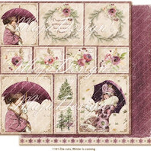 "Maja Design Ark 12x12"" - Winter is coming - Die cuts"